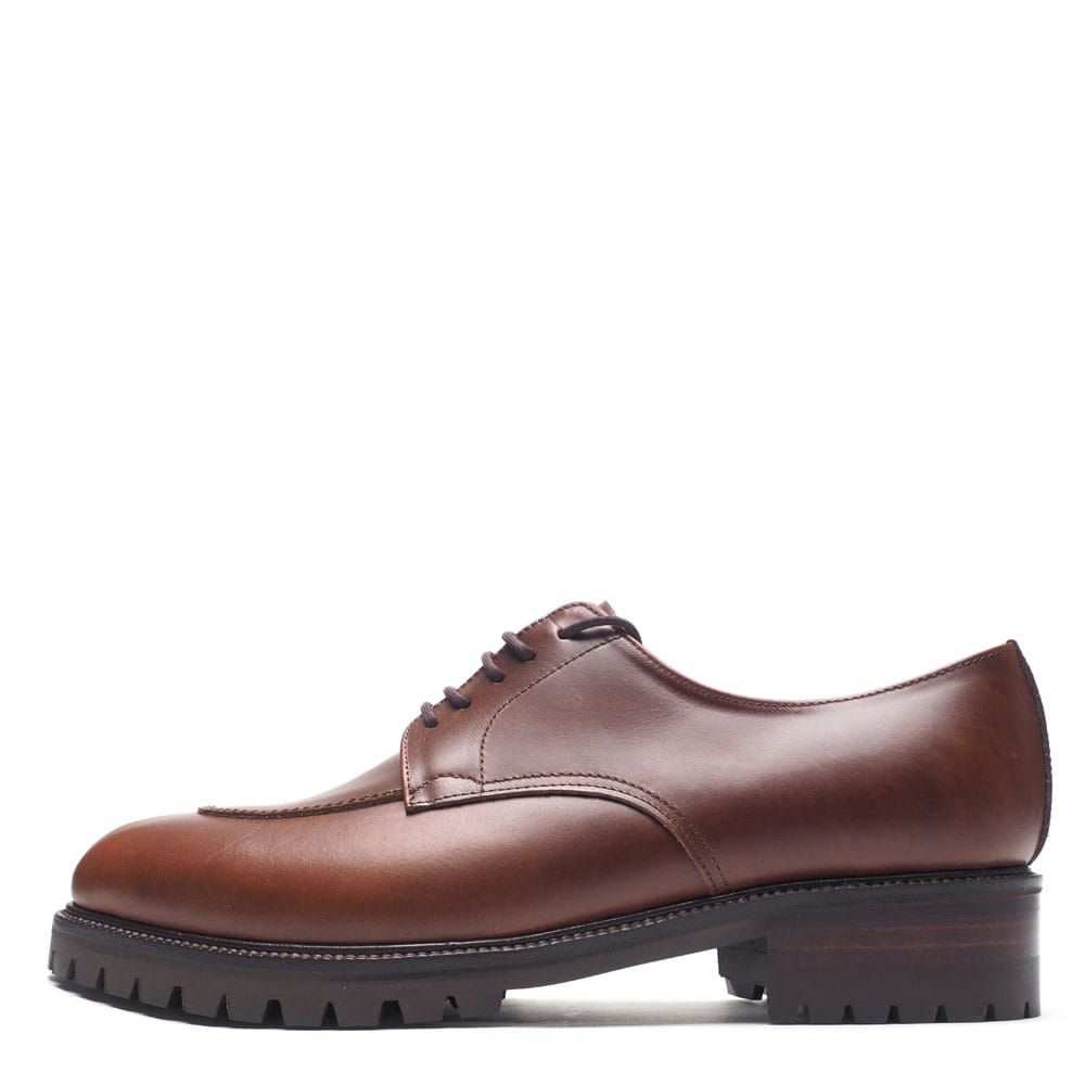 8017-09 / Red Brown Oil Tannage / Walker 07 / A5