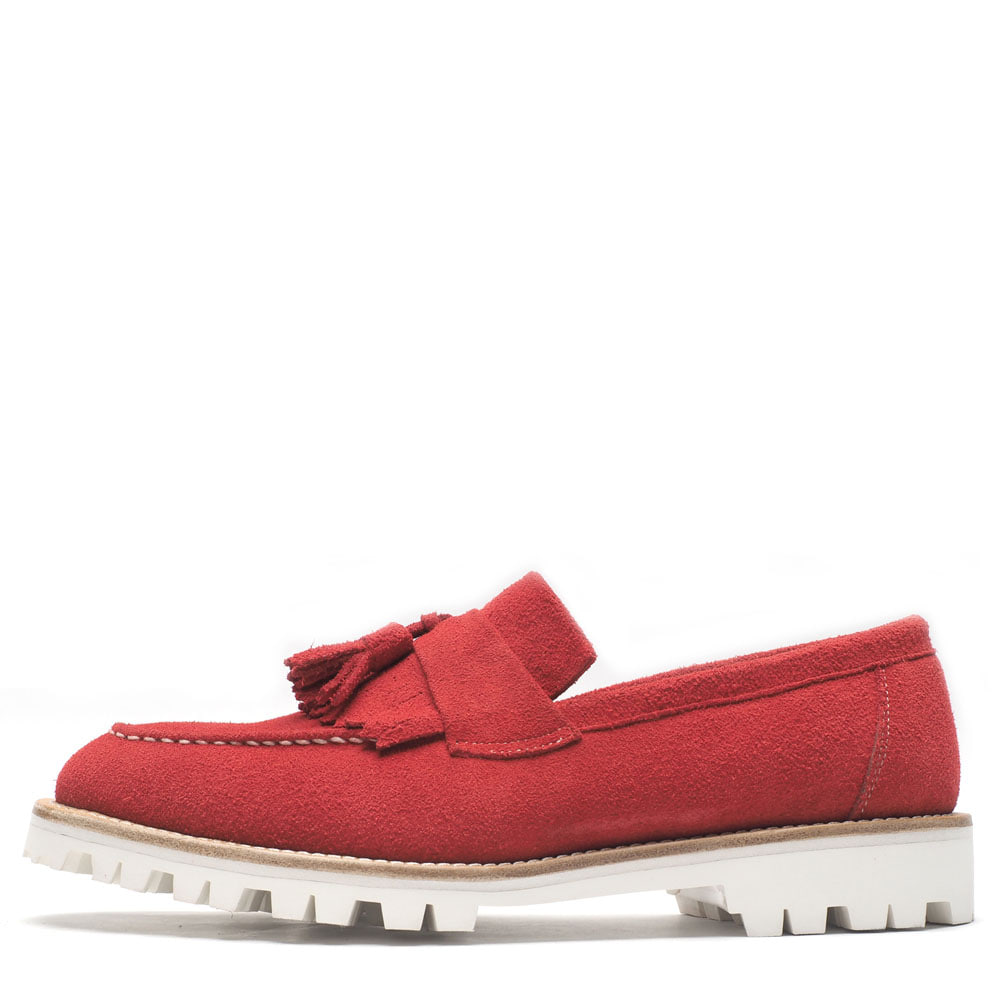 0070-43 / Red Suede / Walker 01 / G3