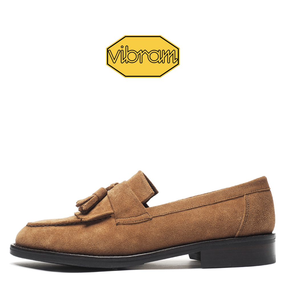0070-35 / Light Brown Suede / Vibram 02 / G3
