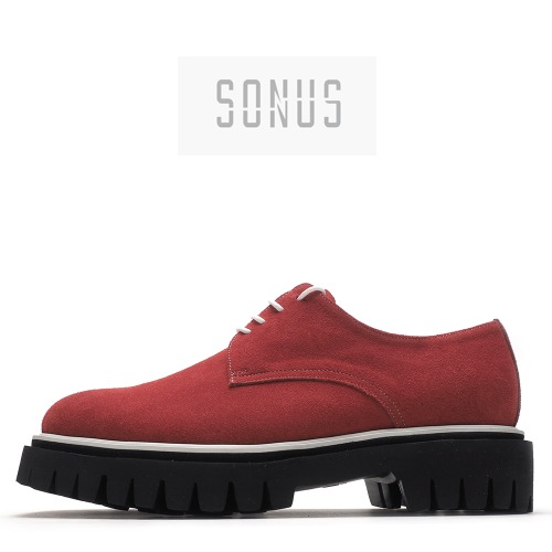 4324-CUS03 / Red Suede / Walker 12 / 002