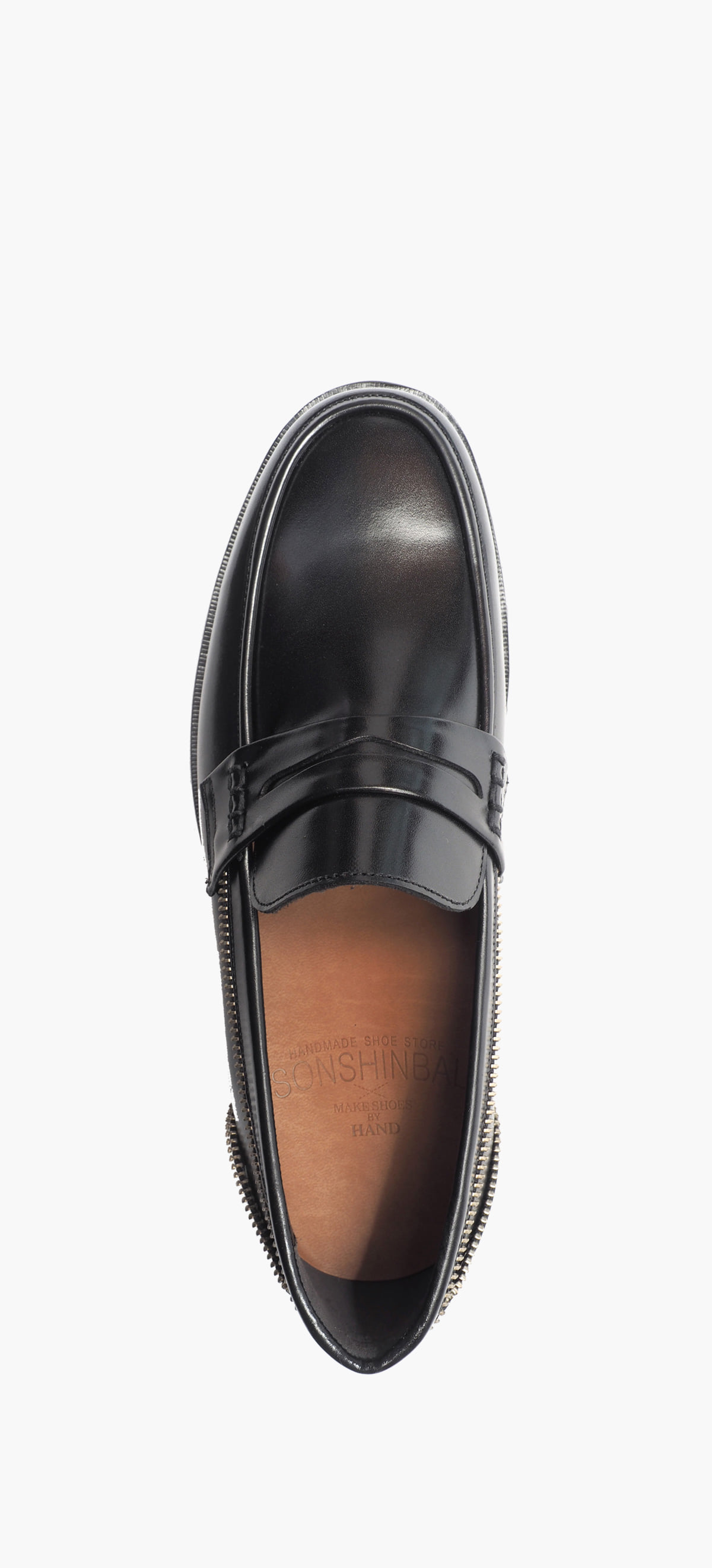 Penny Loafer 2222-03 Black Kip