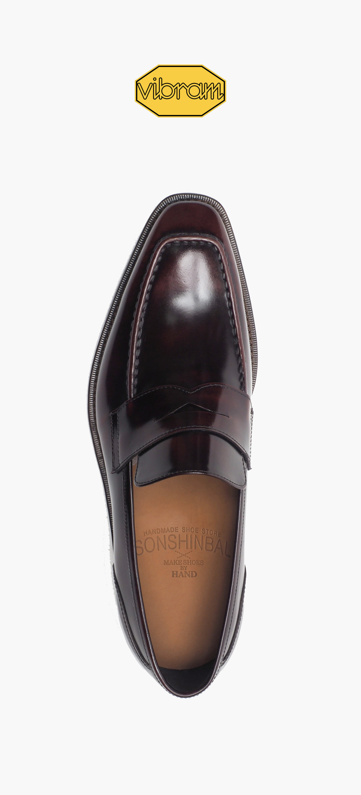 Penny Loafer 2026-03 Wine Two-Tone