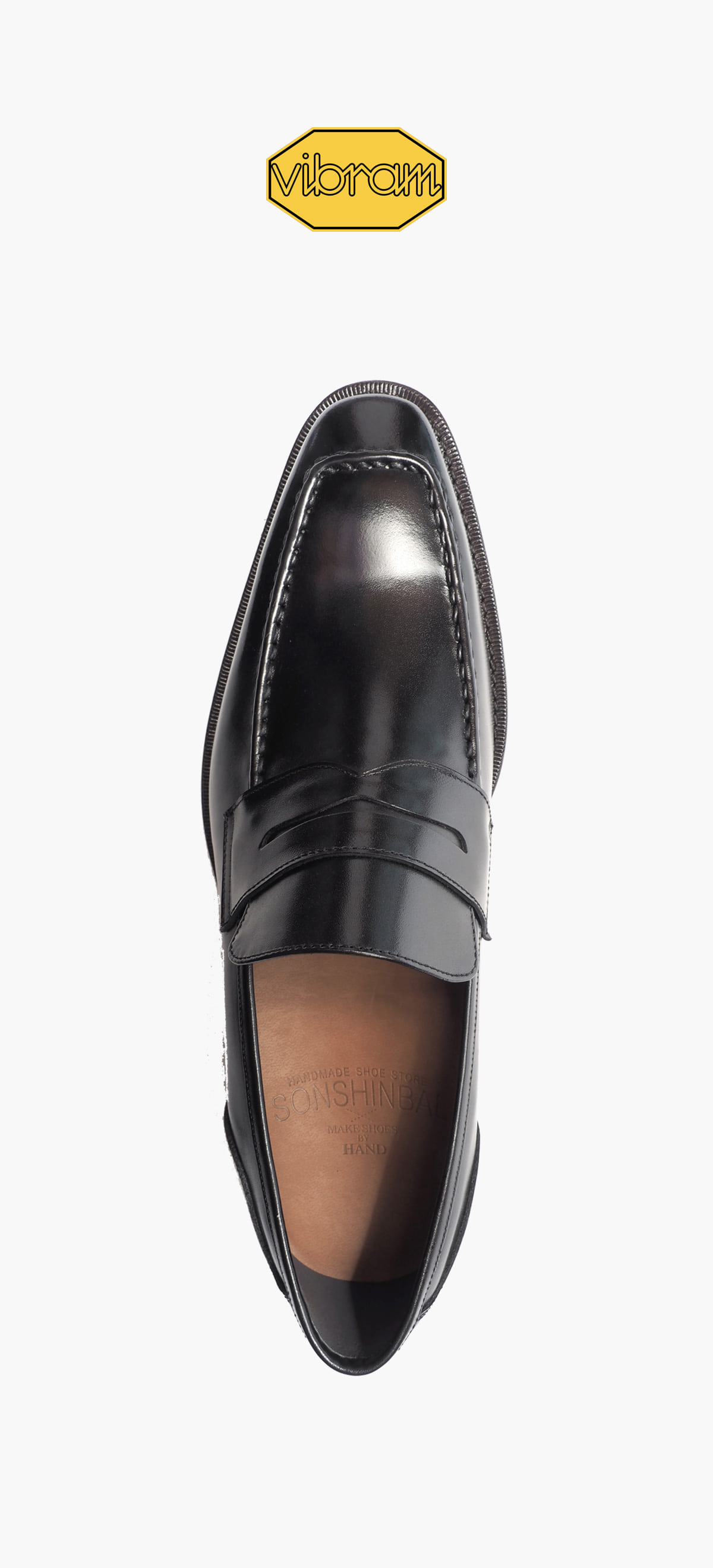 Penny Loafer 2026-01 Black Kip