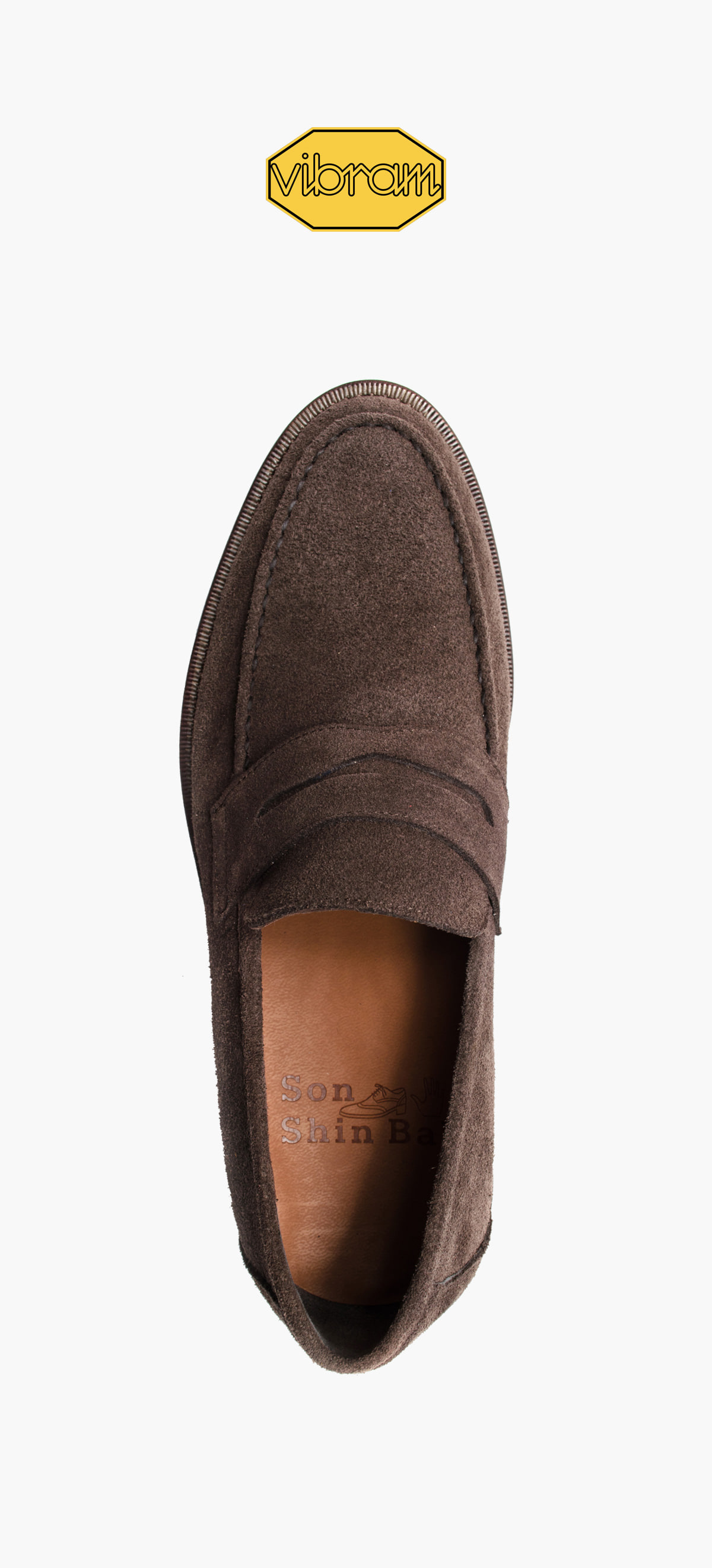Penny Loafer 2028-06 Deep Brown Suede