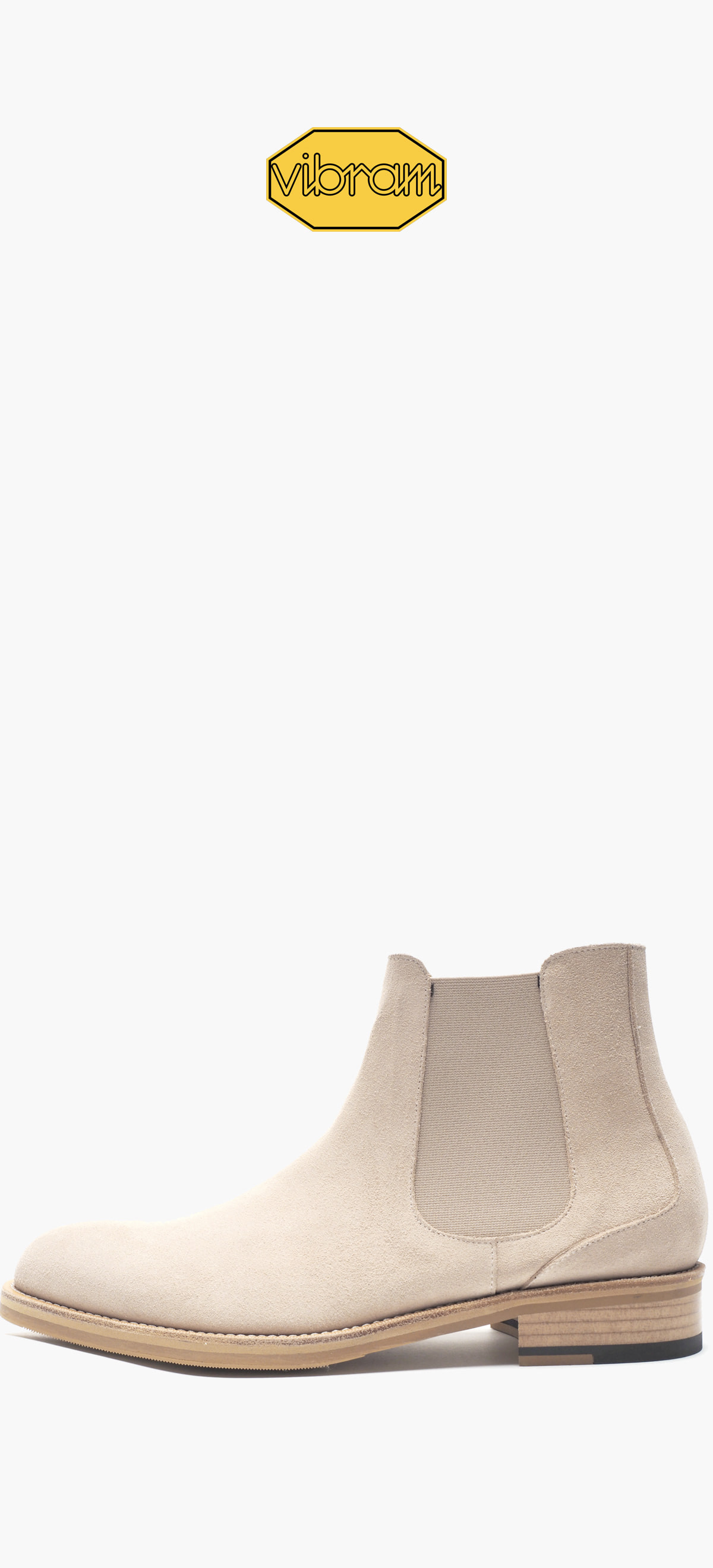 Chelsea Boots 9003-12 Ivory Suede