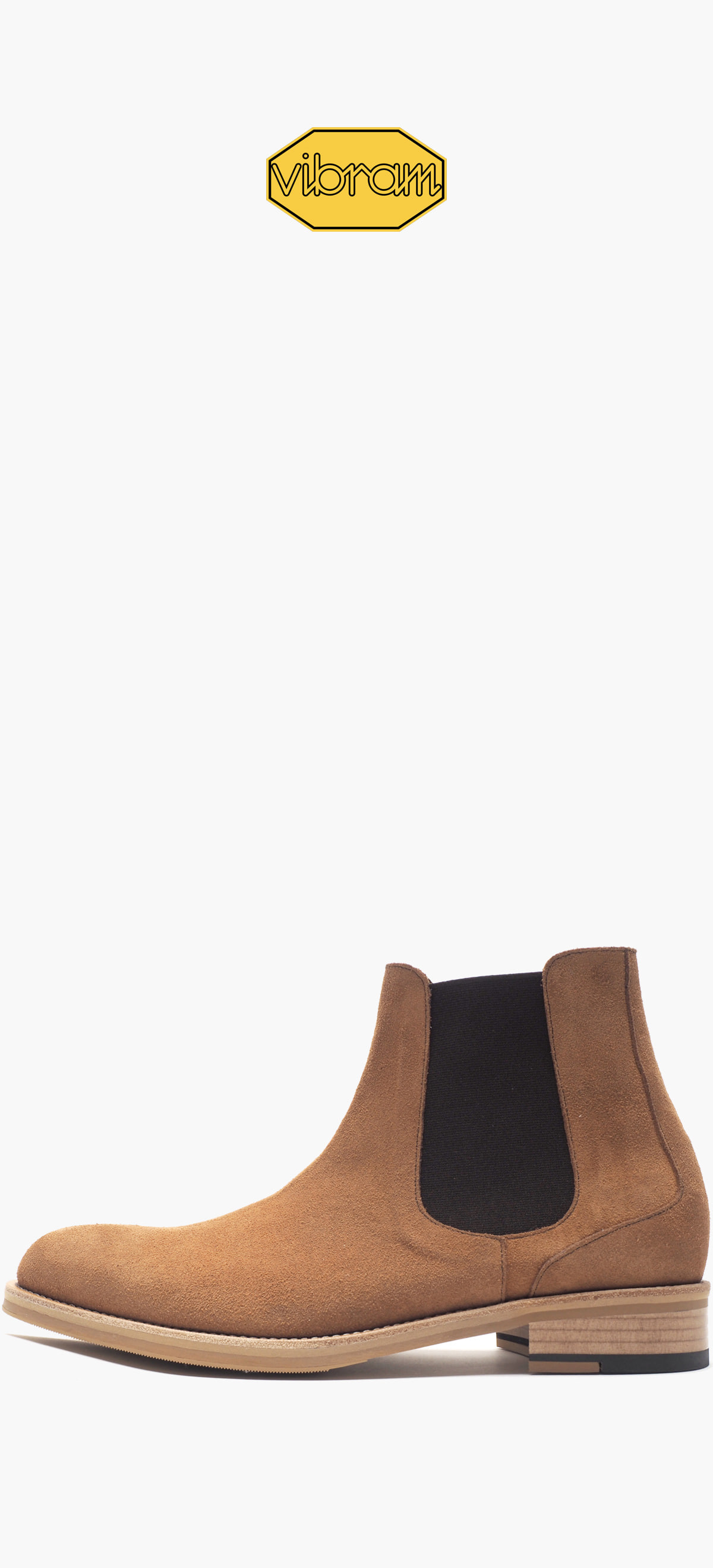 Chelsea Boots 9003-13 Light Brown Suede