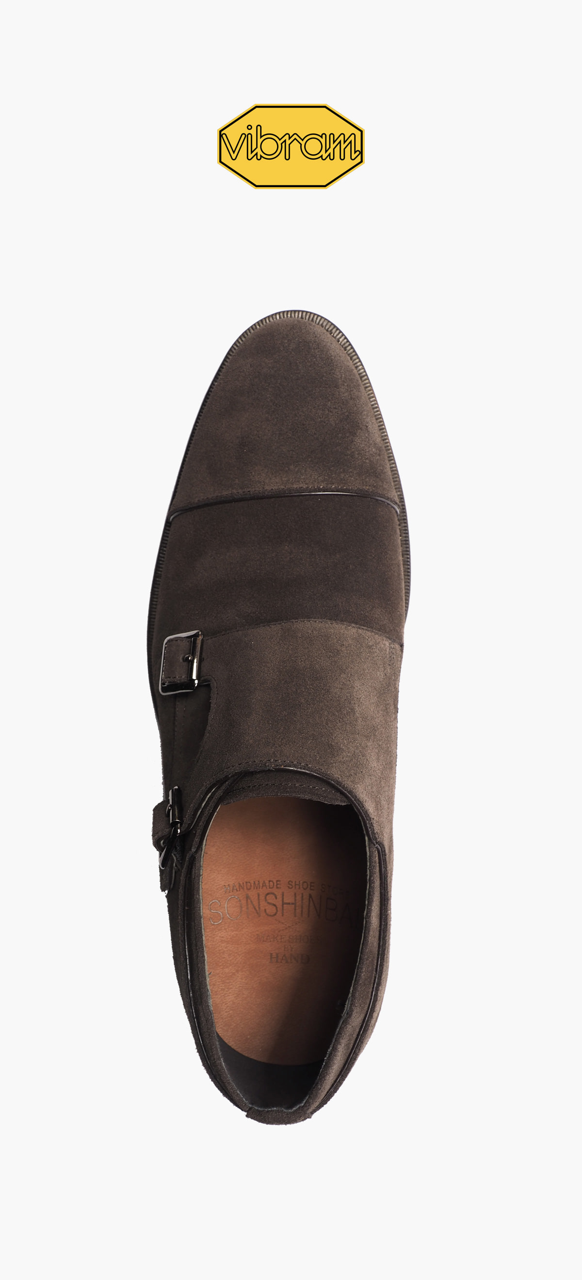 Monk Strap 2035-06 Deep Brown Suede