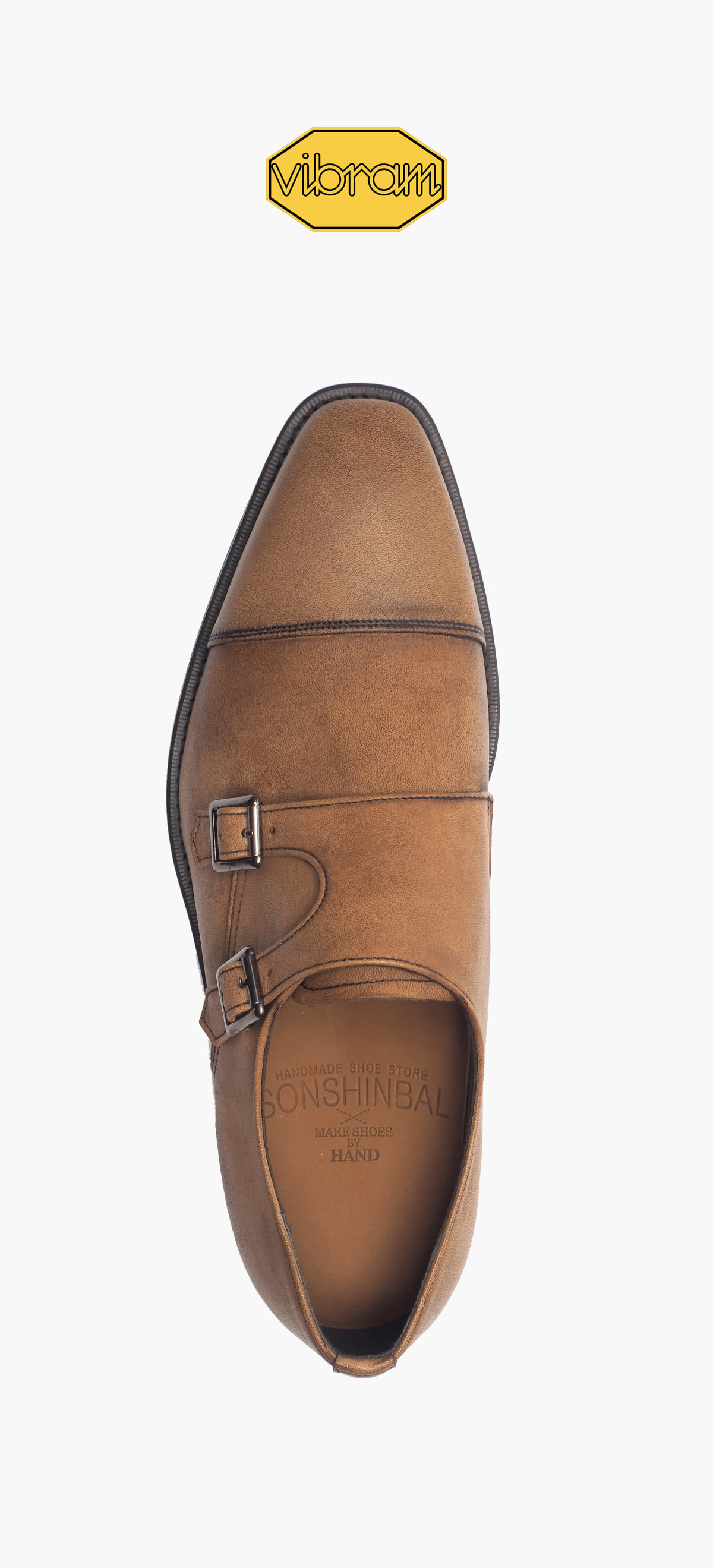 Monk Strap 8031-10 Brown Tanning