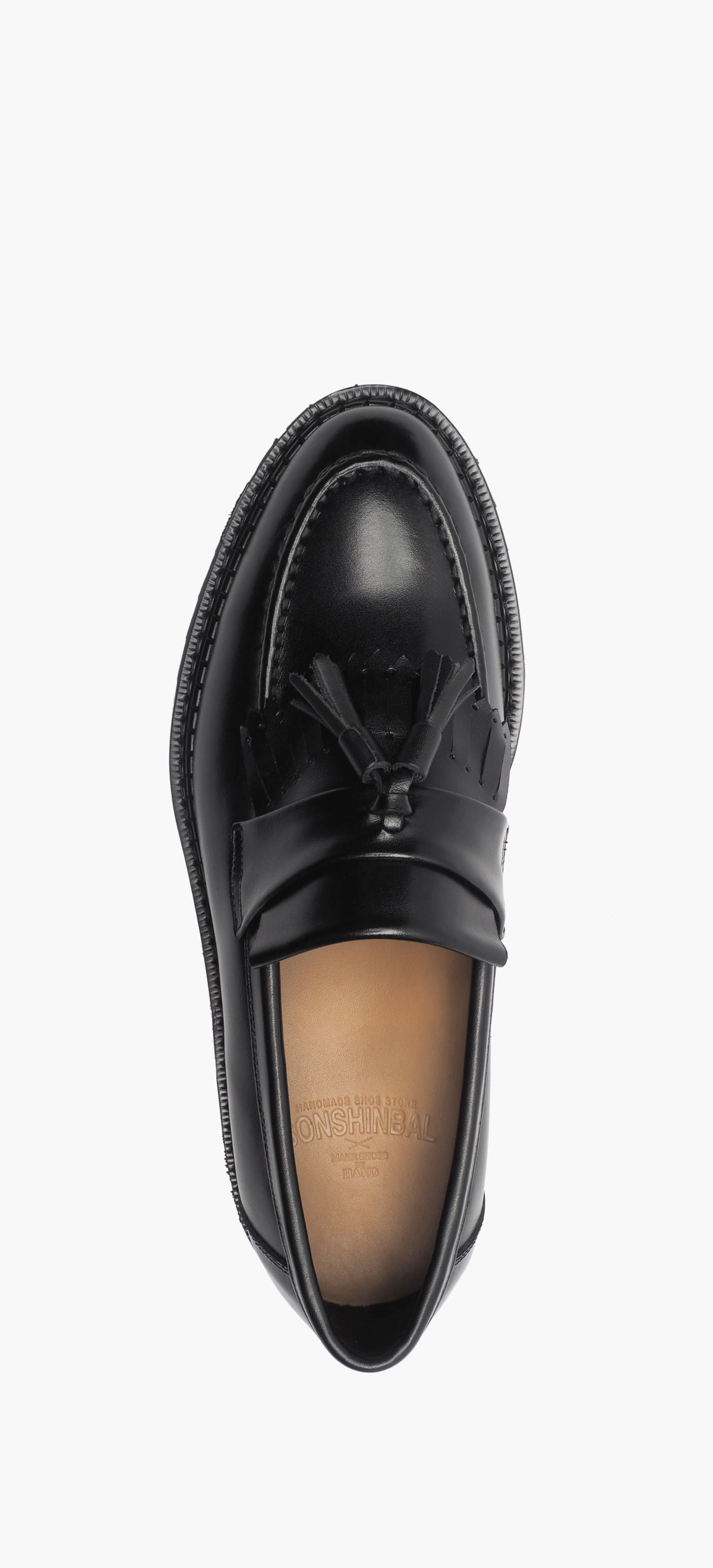 Tassel Loafer 0070-45 Black Kip