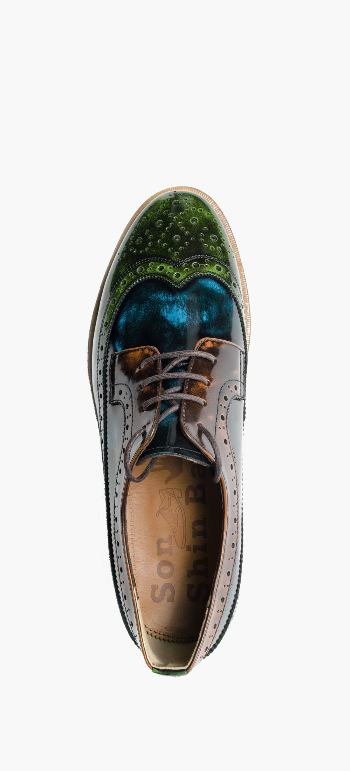 Wing Tip 0027-29 Light Green Combination