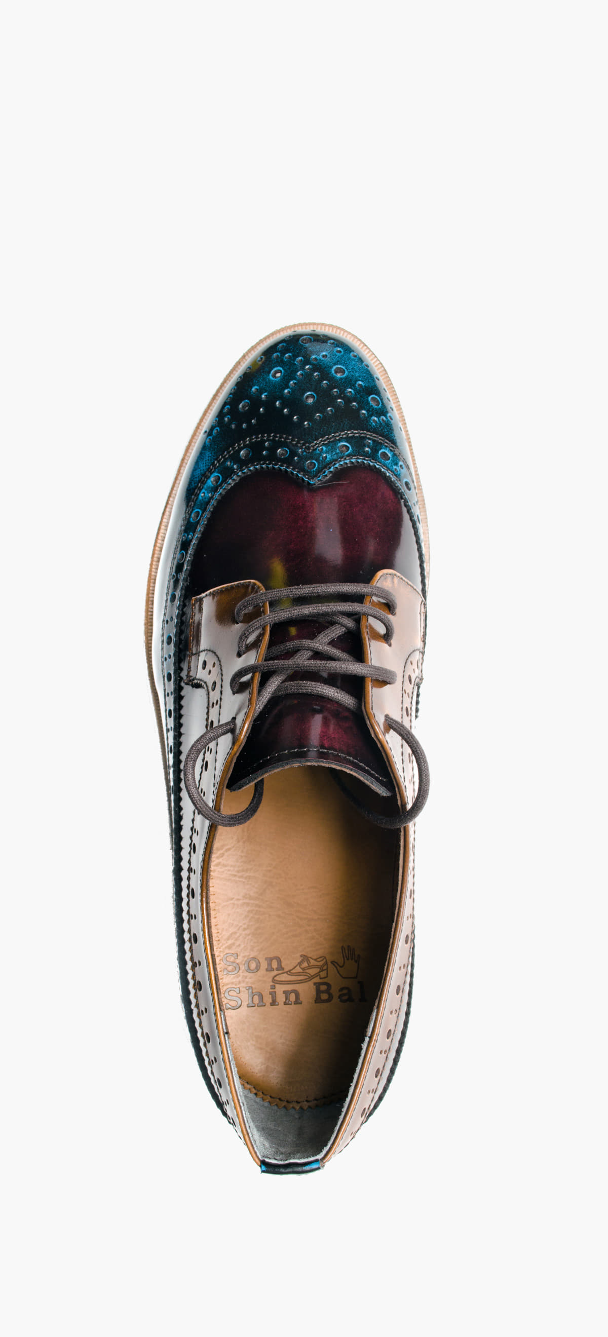 Wing Tip 0027-31 Blue Combination