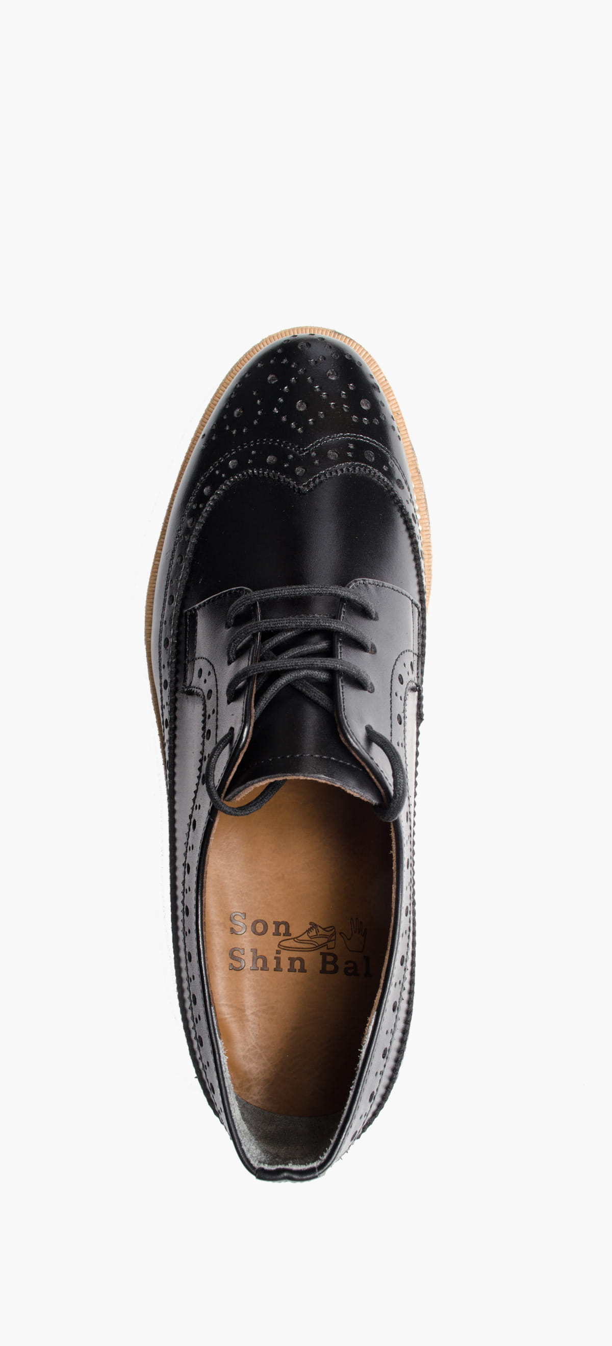 Wing Tip 0027-33 Black Kip