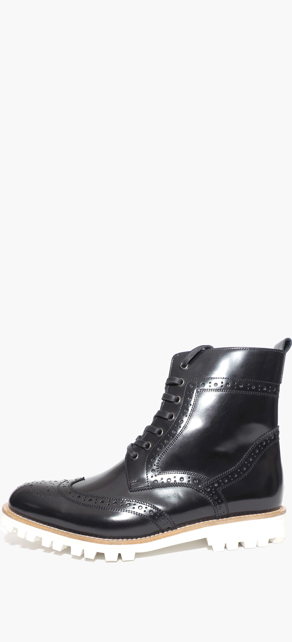 Wing Tip Boots 2070-08 Black Box