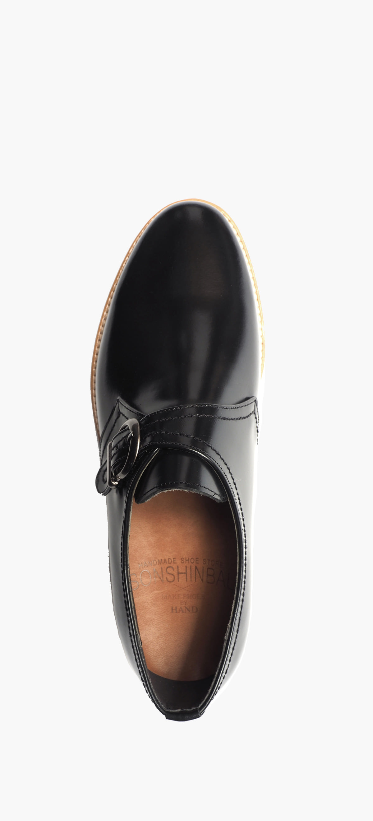 Monk Strap 0090-08 Black Box(Comando Sole)