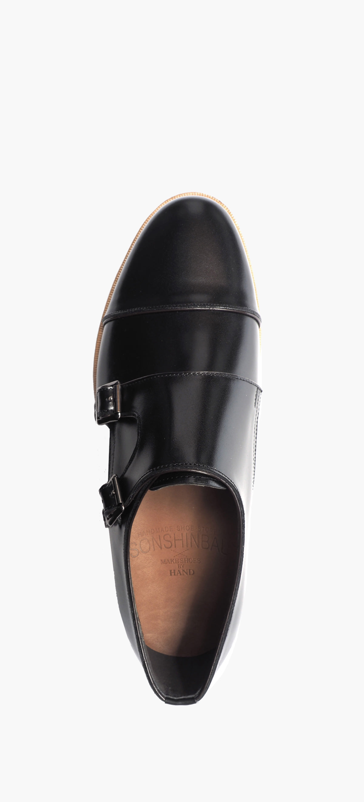 Monk Strap 2118-02 Black Kip
