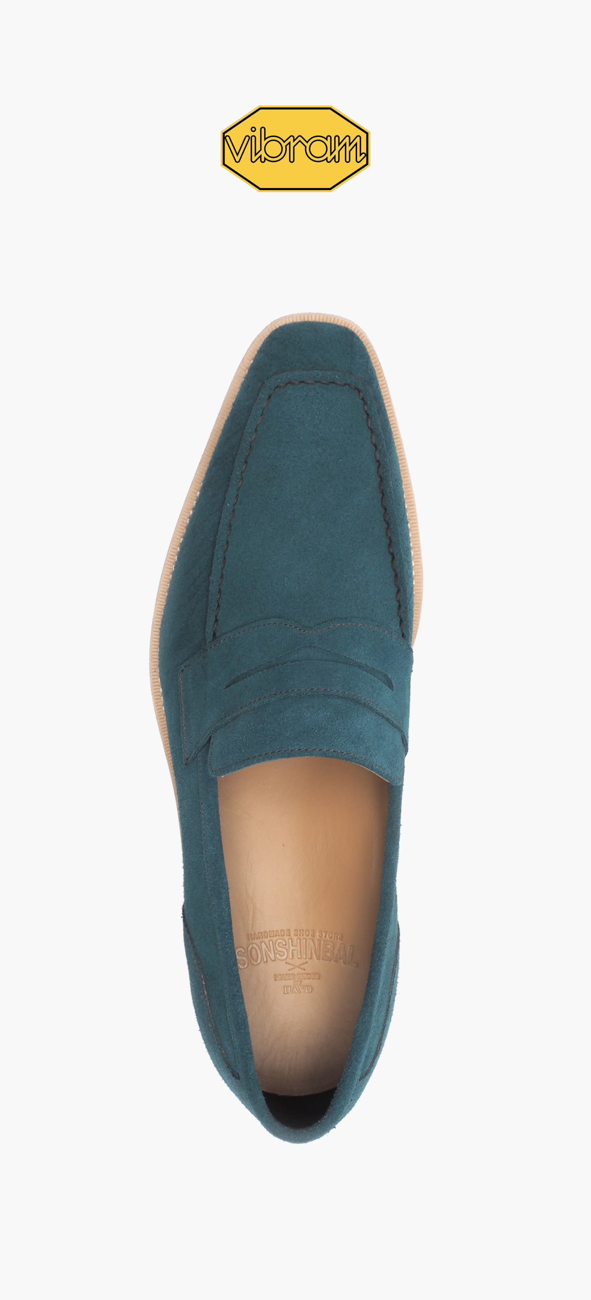 Penny Loafer 2026-05 Emerald Suede