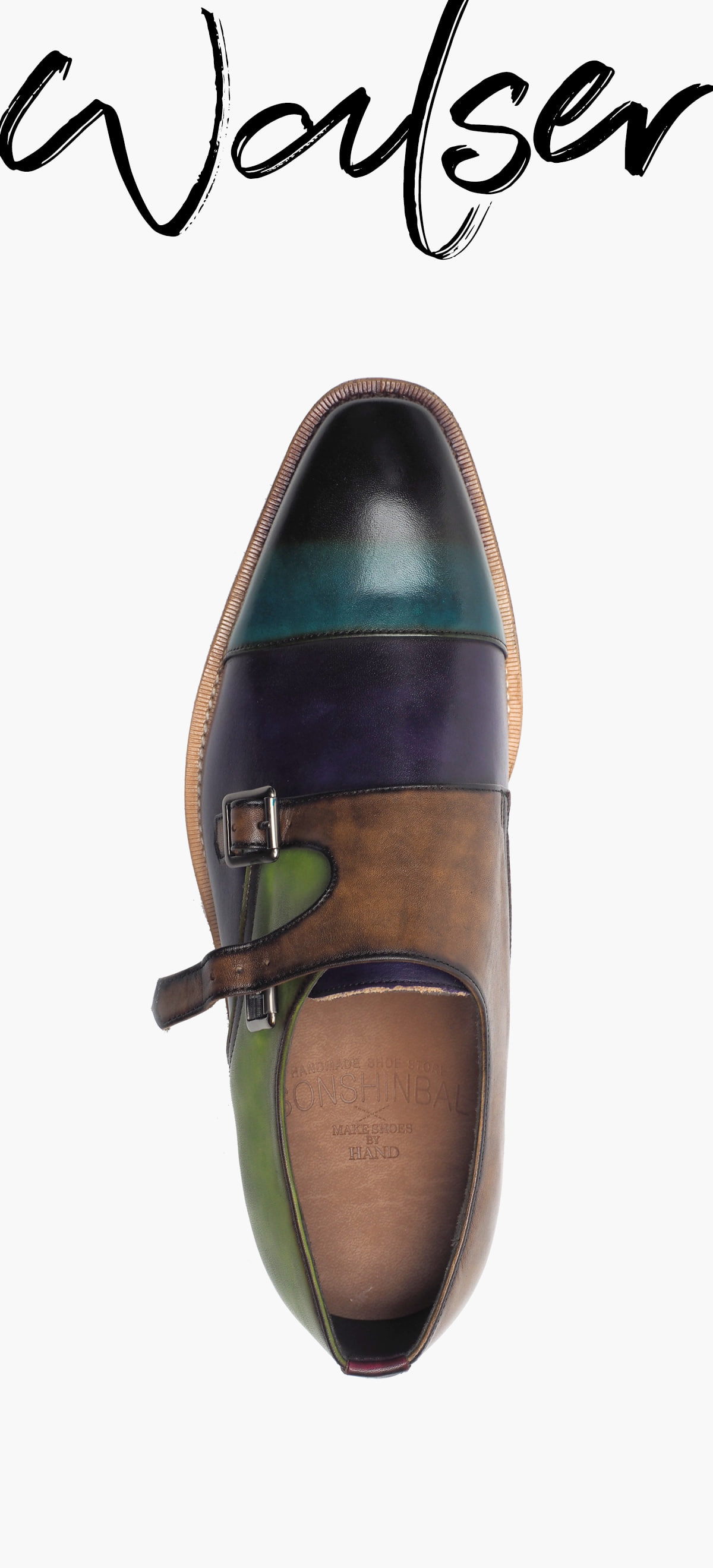 Monk Strap 8031-RW02 MULTI COLOR