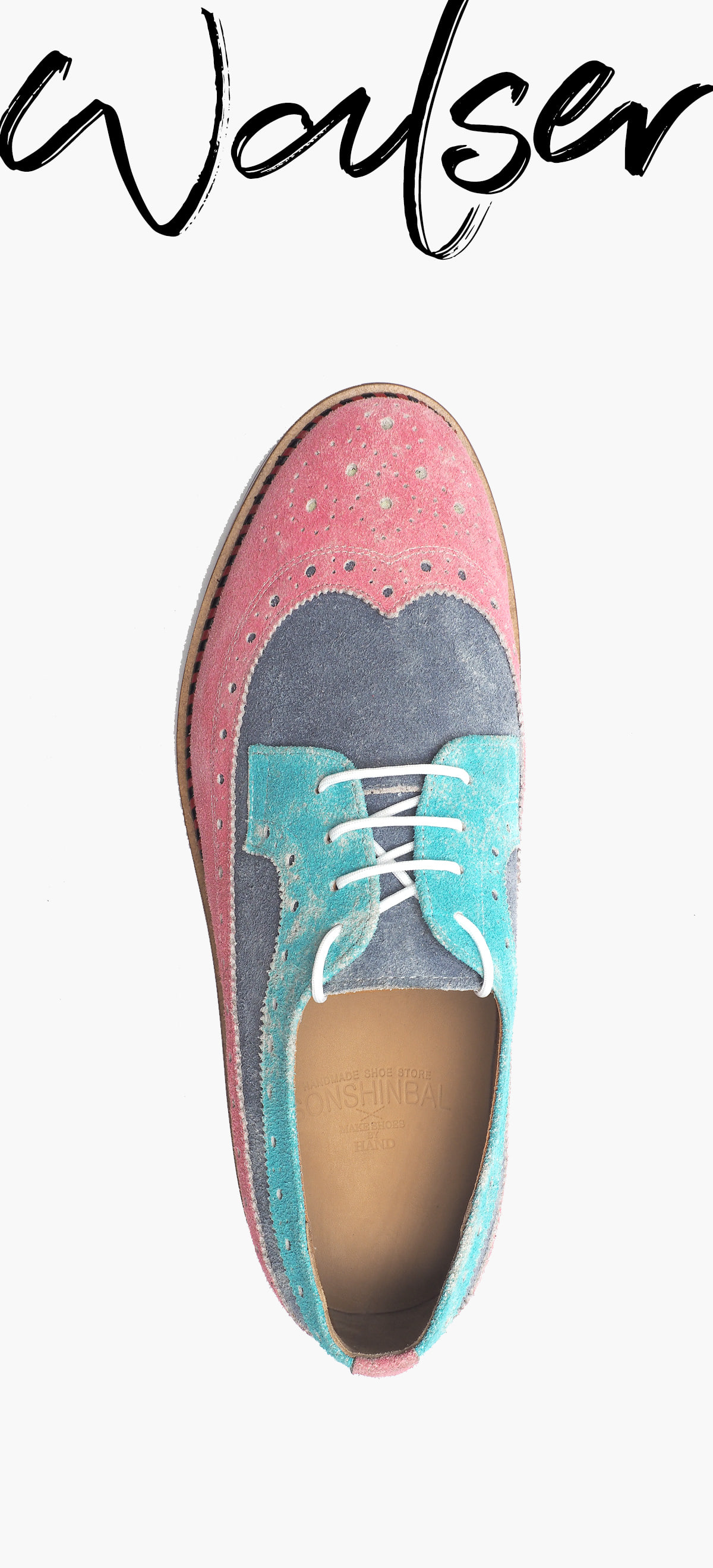 Wing Tip 0027-RW04 Suede MULTI COLOR