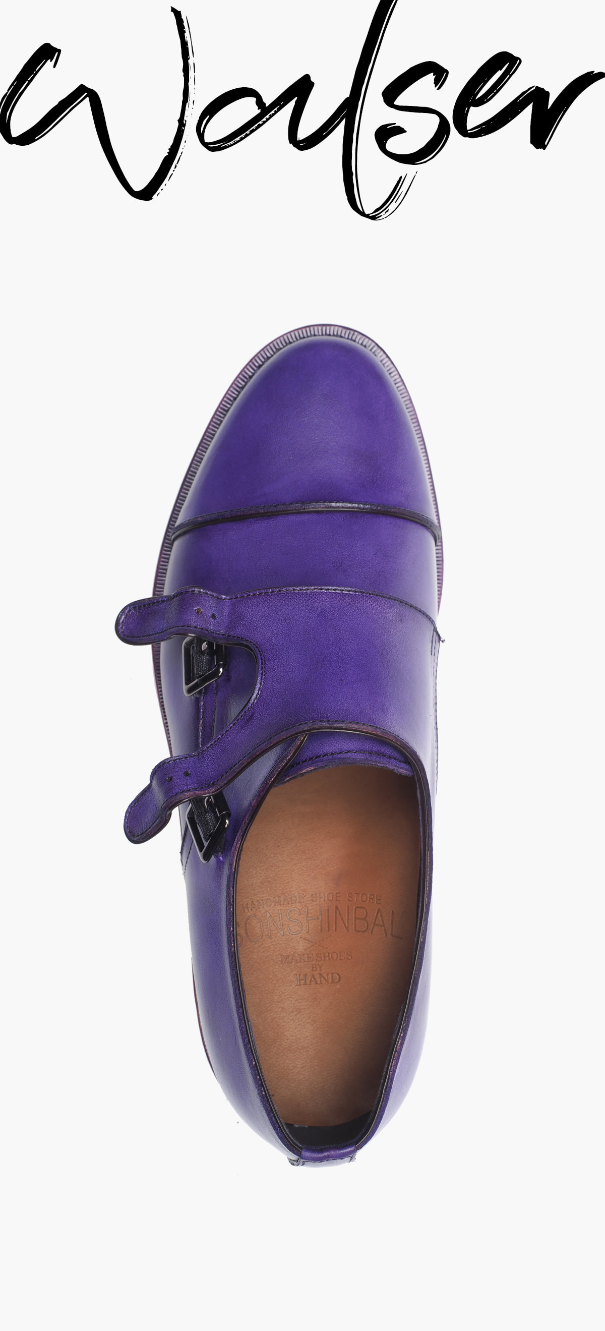 Monk Strap 2118-RW04 Color Skin Purple