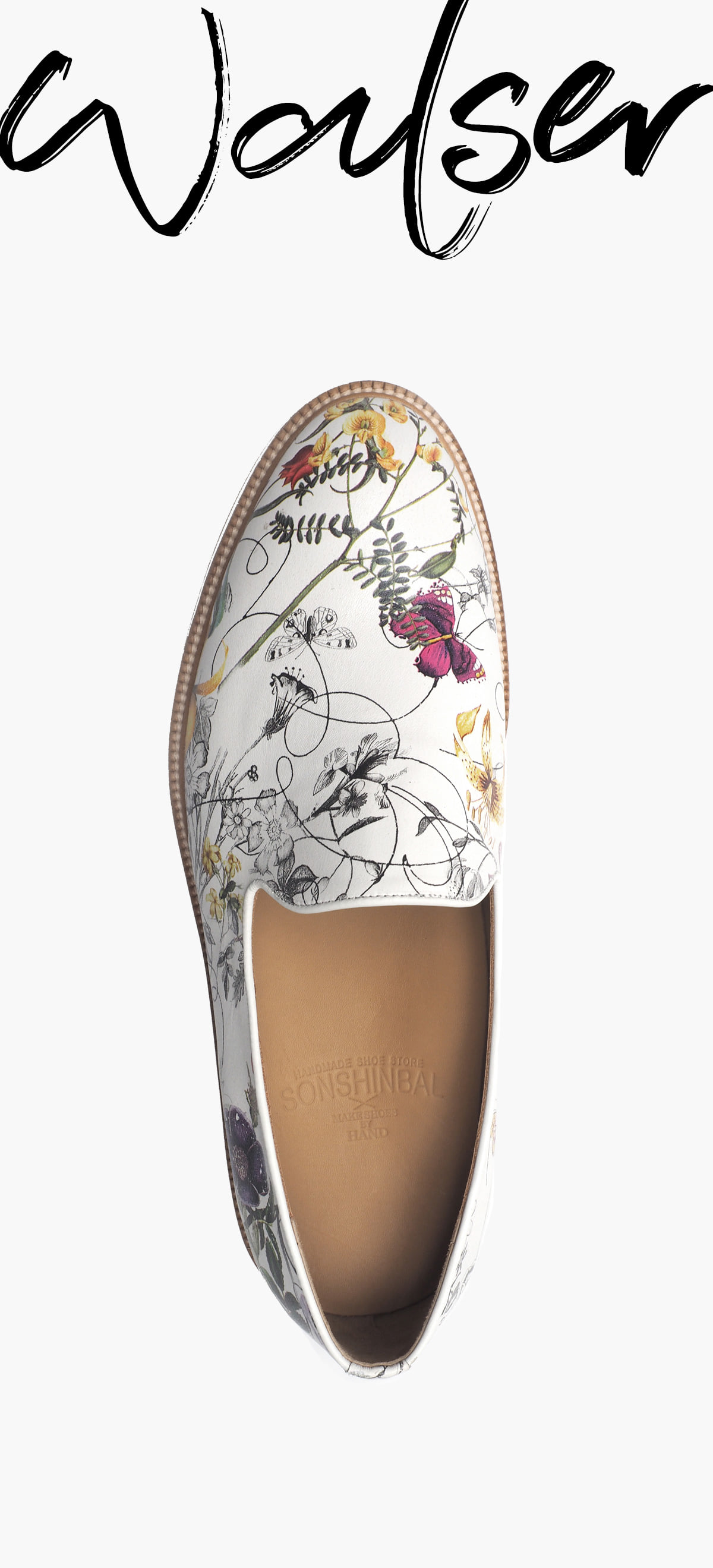 Slip-On 2049-RW06 Flower Kip