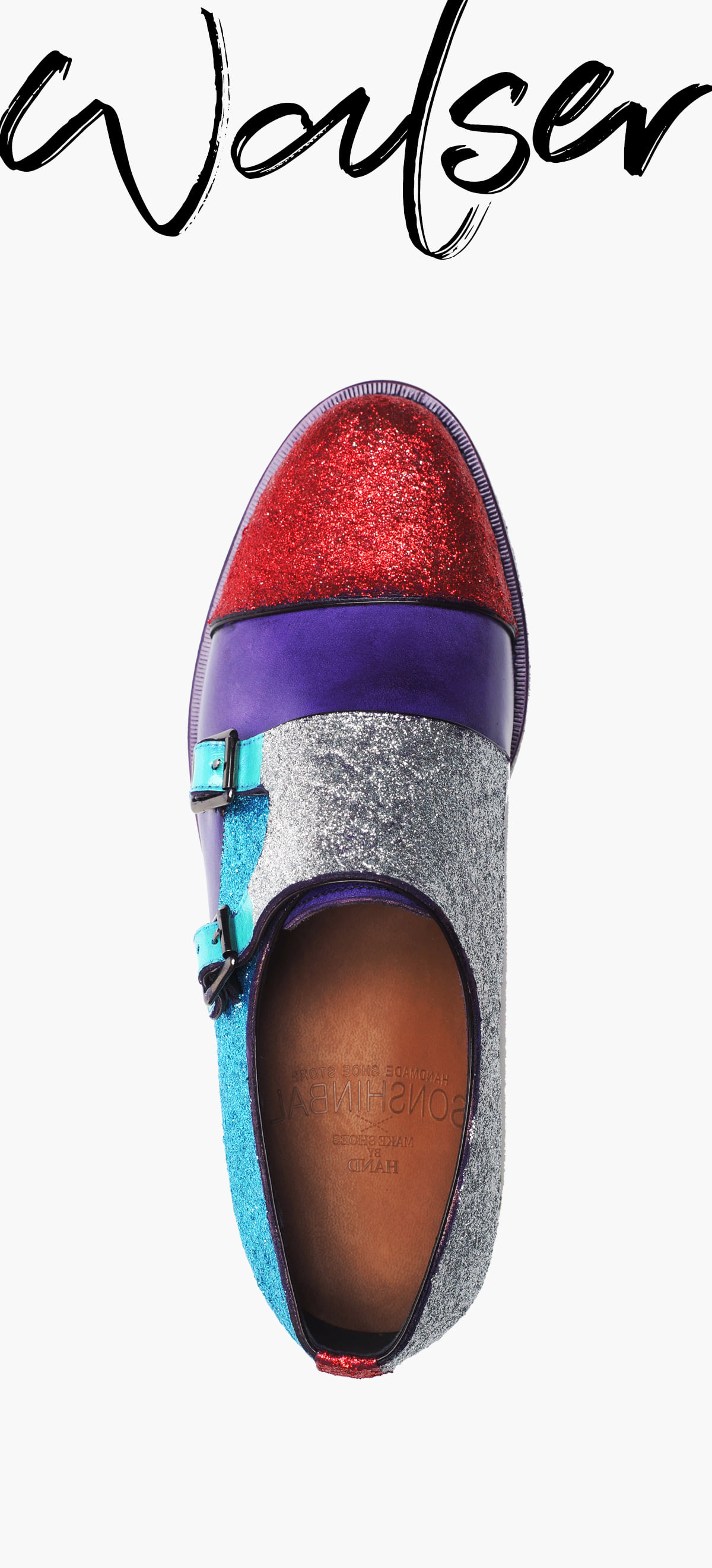 Monk Strap 2118-RW01 MULTI COLOR