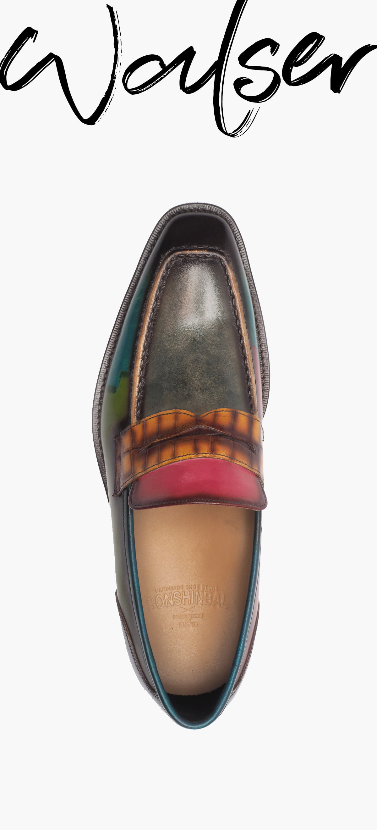 Penny Loafer 2026-RW01 Multi Color
