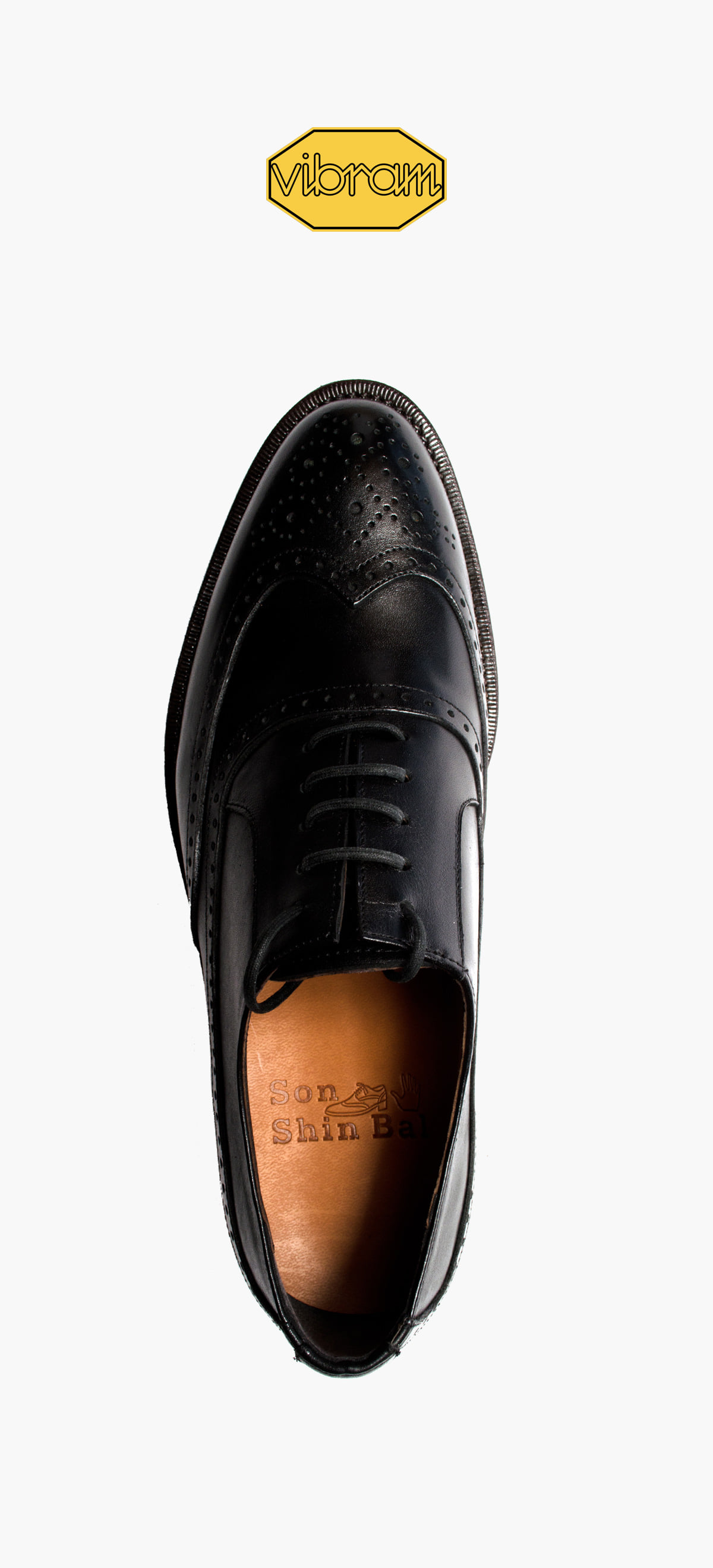 Wing Tip 8011-11 Black Kip