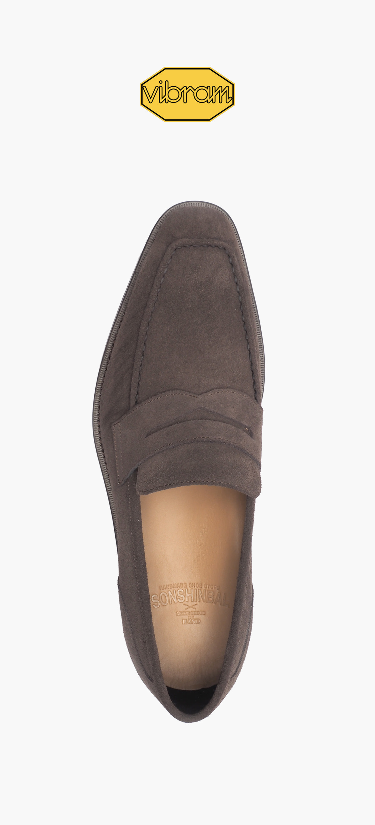 Penny Loafer 2026-06 Brown Suede