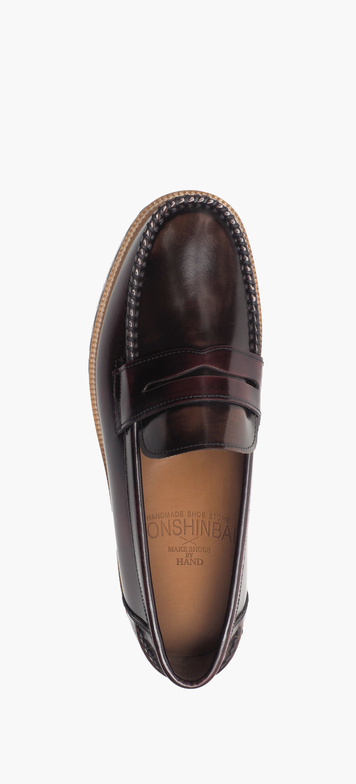 Penny Loafer 2220-06 Wine Two-Tone