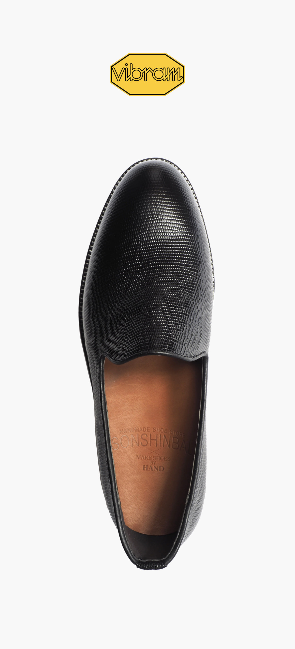 Slip On 2049-16 Black Saffiano