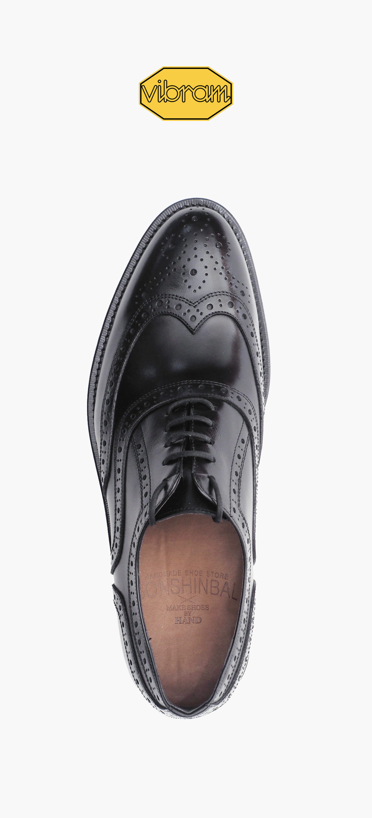 Wing Tip 2236-01 Black Kip