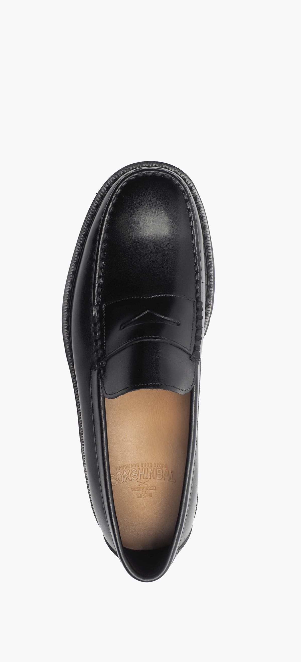 Penny Loafer 8012-42 Black Kip
