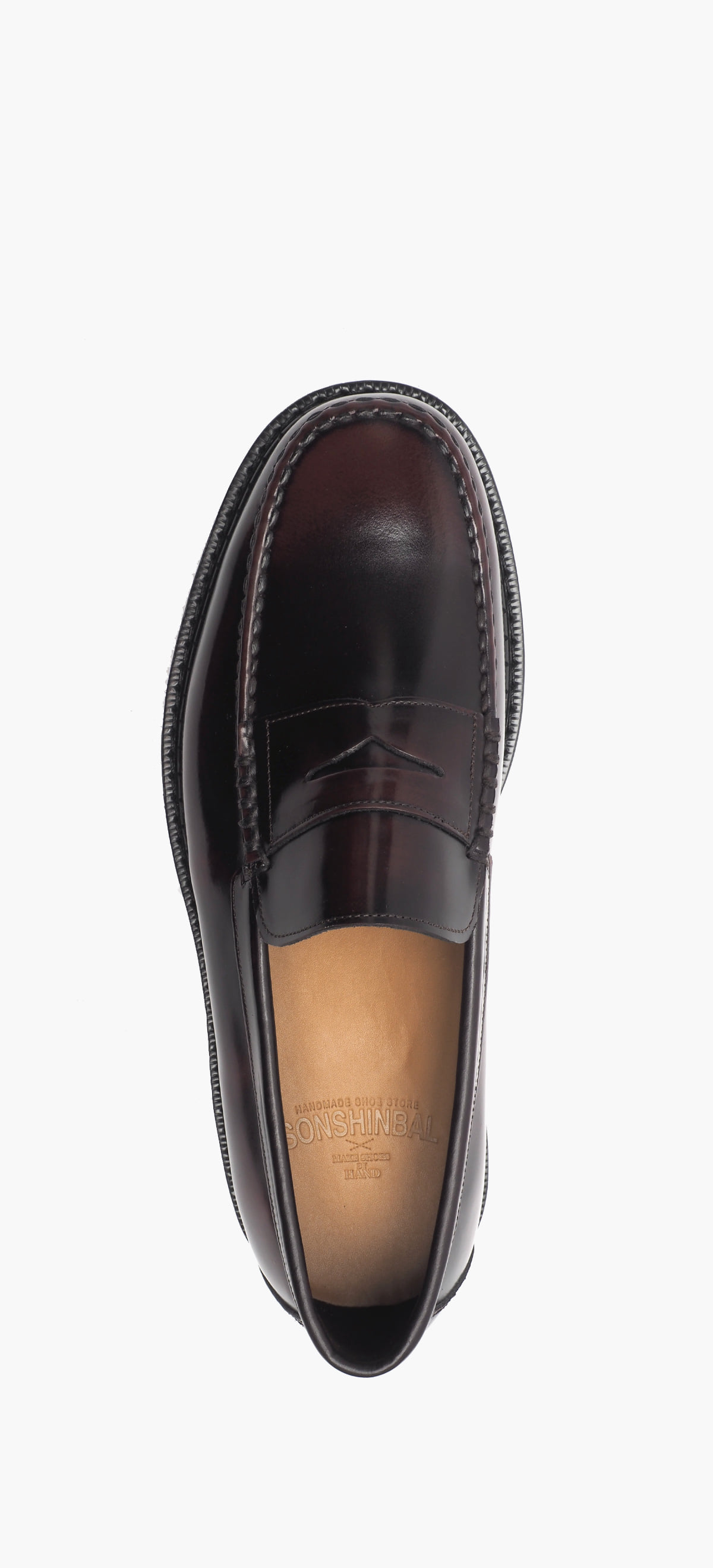Penny Loafer 8012-43 Wine Two-Tone