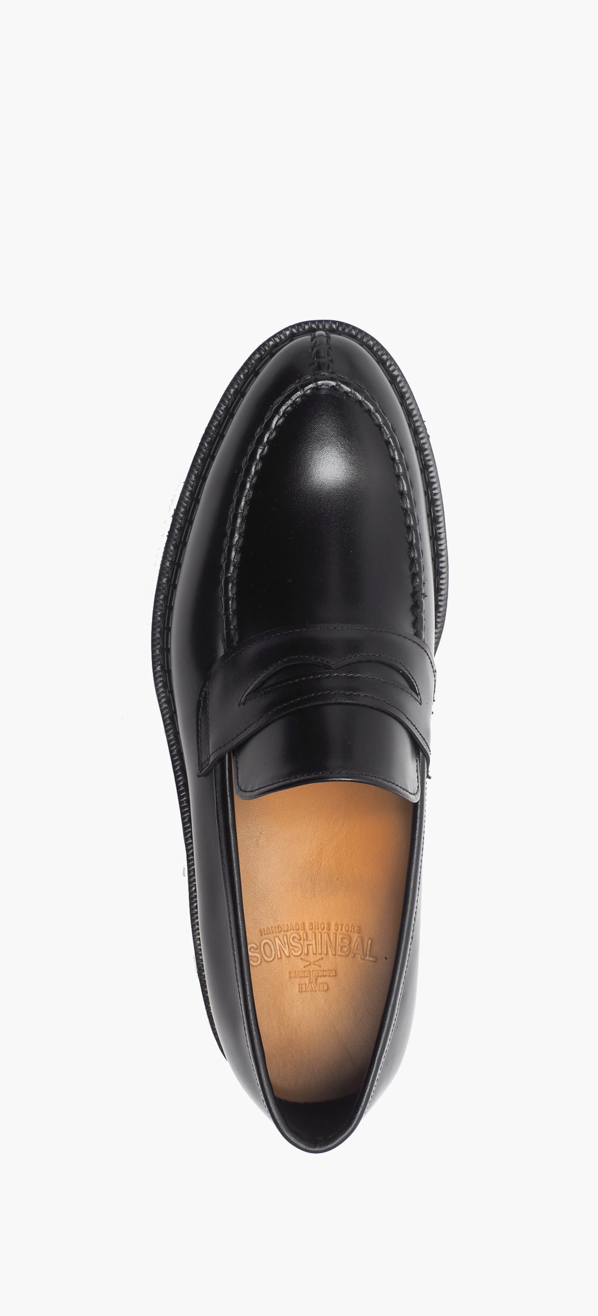 Penny Loafer 2052-02 Black Kip