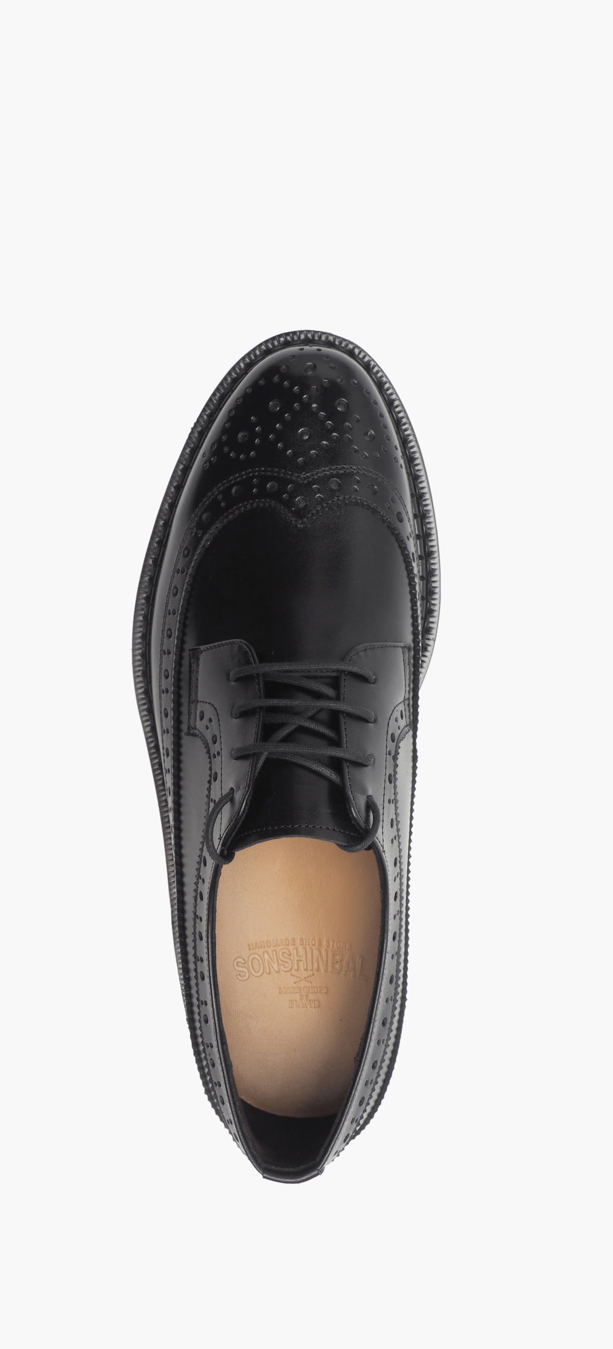 Wing Tip 0027-100 Black Kip
