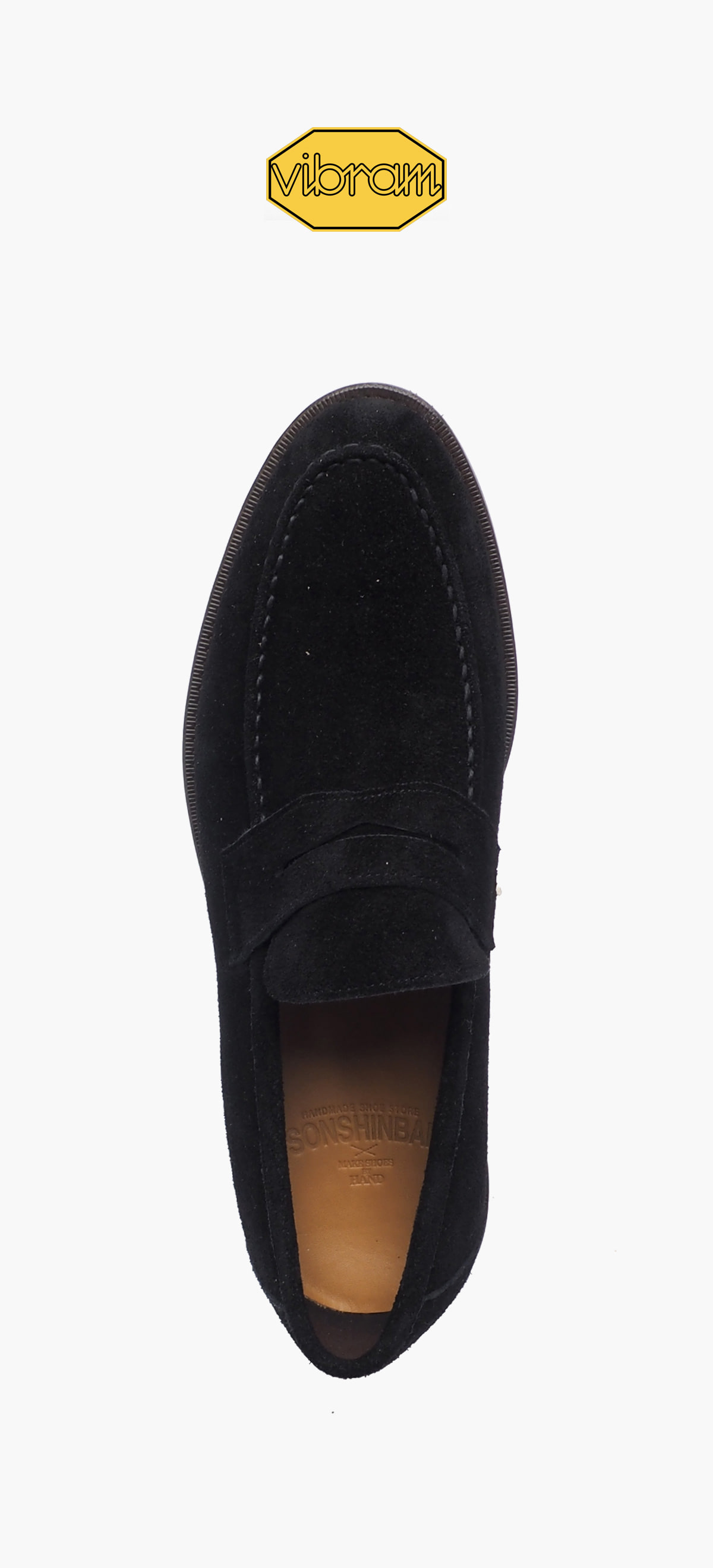 Penny Loafer 2028-15 Black Suede
