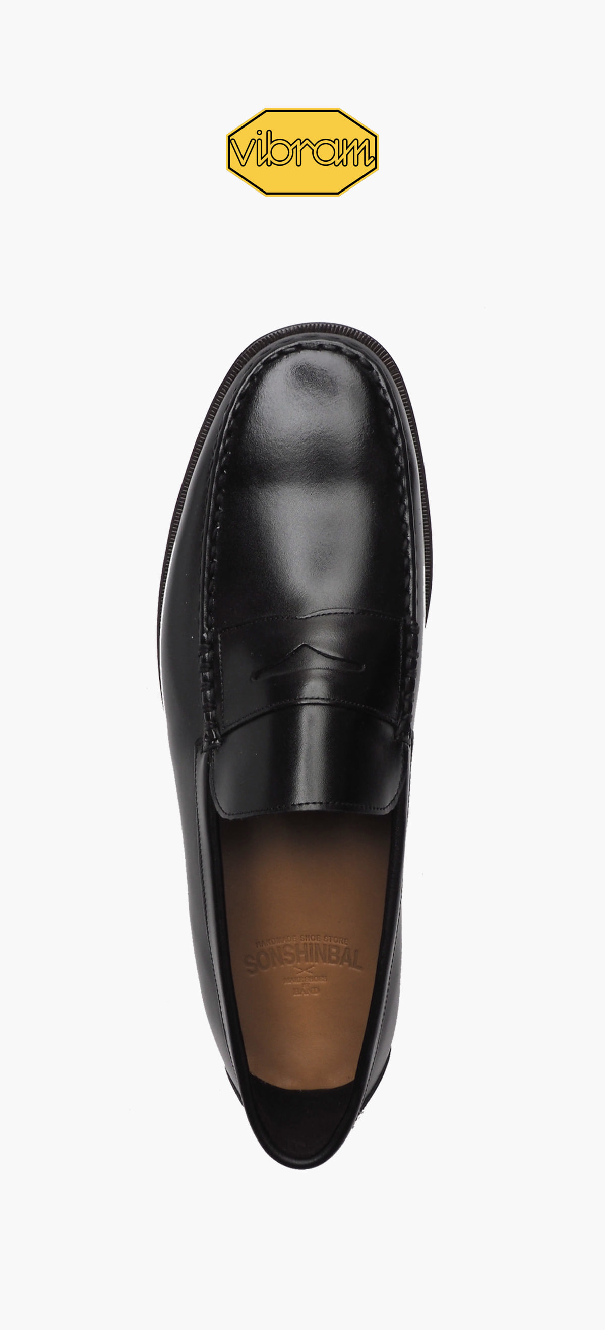 Penny Loafer 8012-05 Black Kip