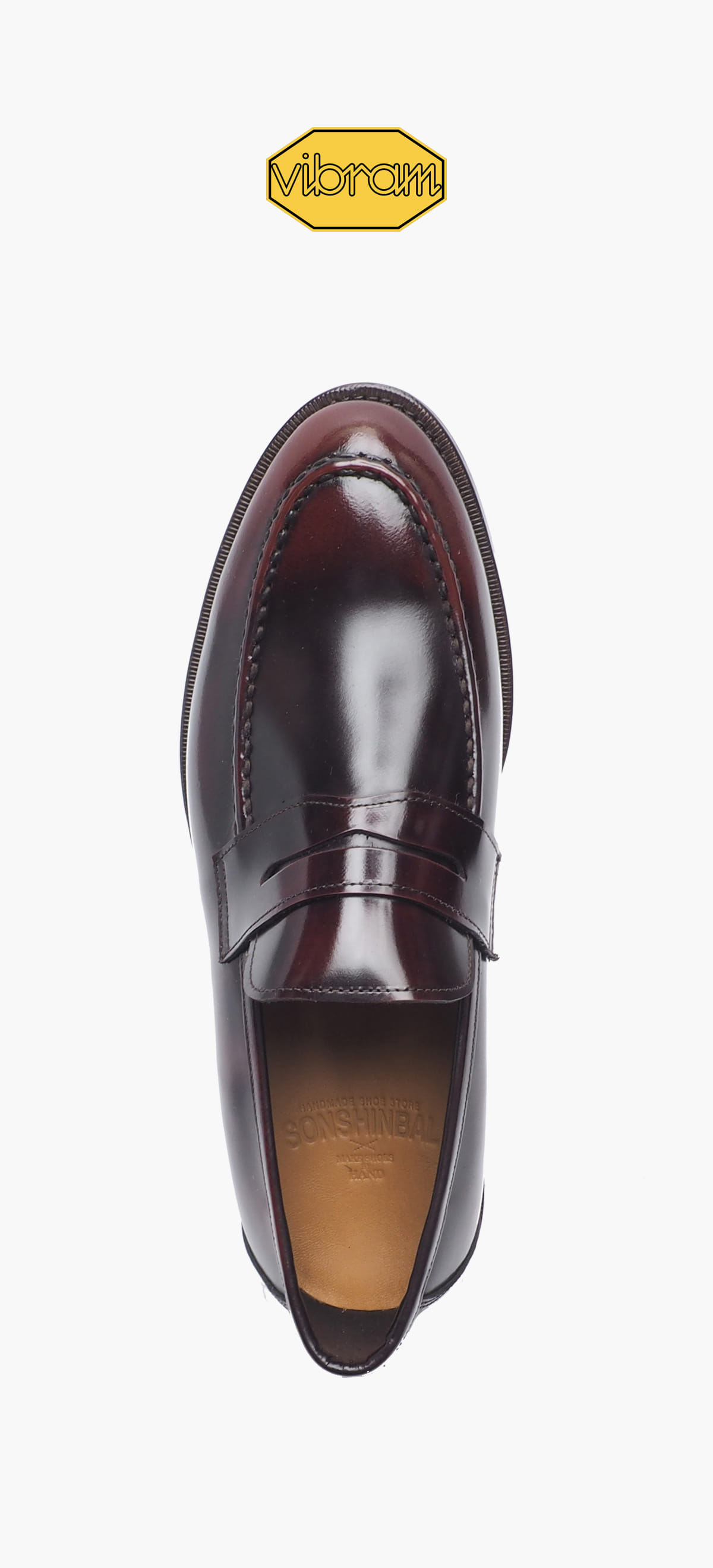 Penny Loafer 2028-16 Wine Two-Tone