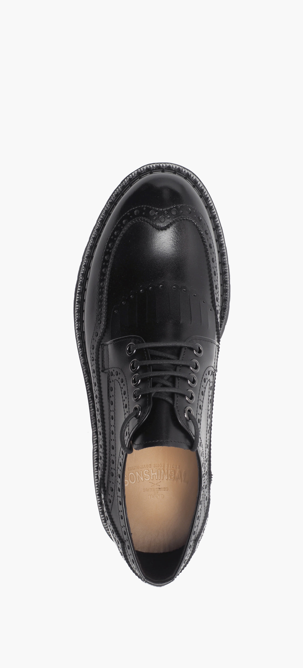 Wing Tip 4020-01- Black Kip