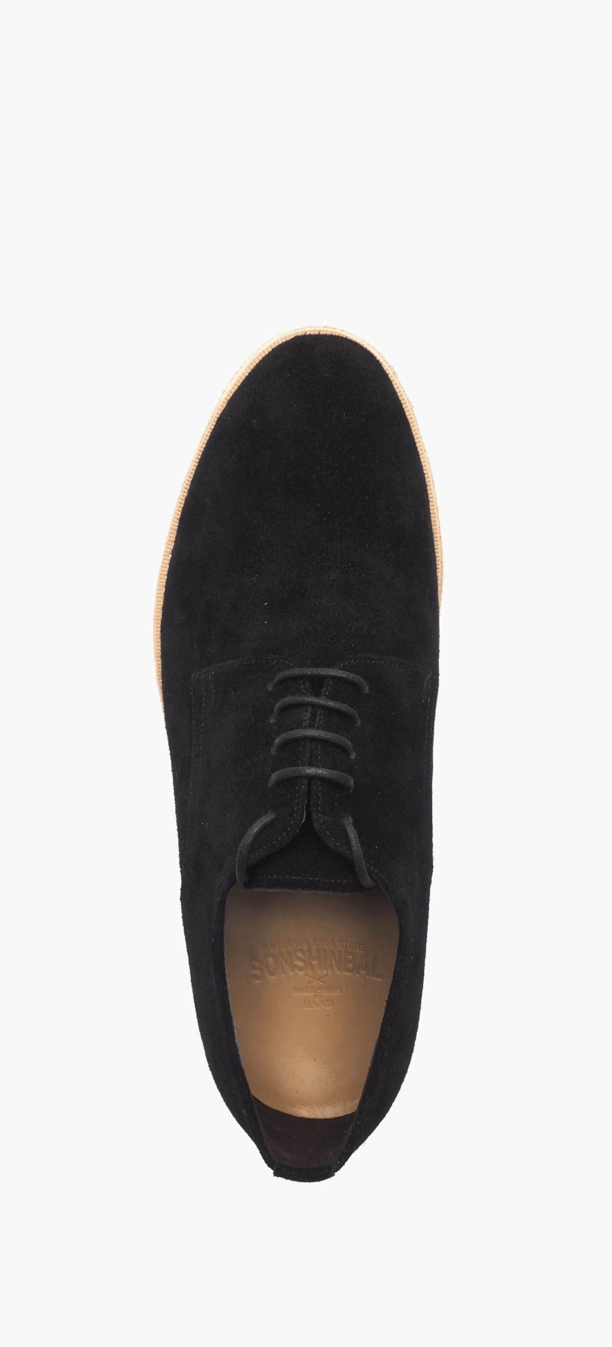 Plain Toe 2054-10-Black Suede