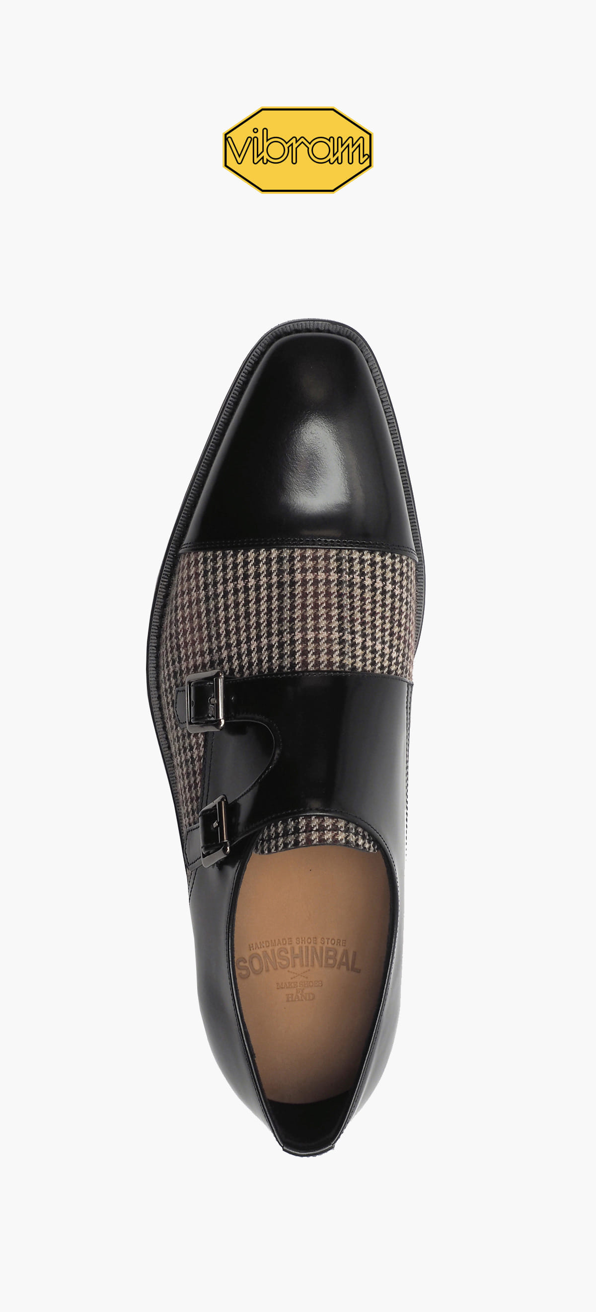 Monk Strap 8031-12 Black CR. Box Combination