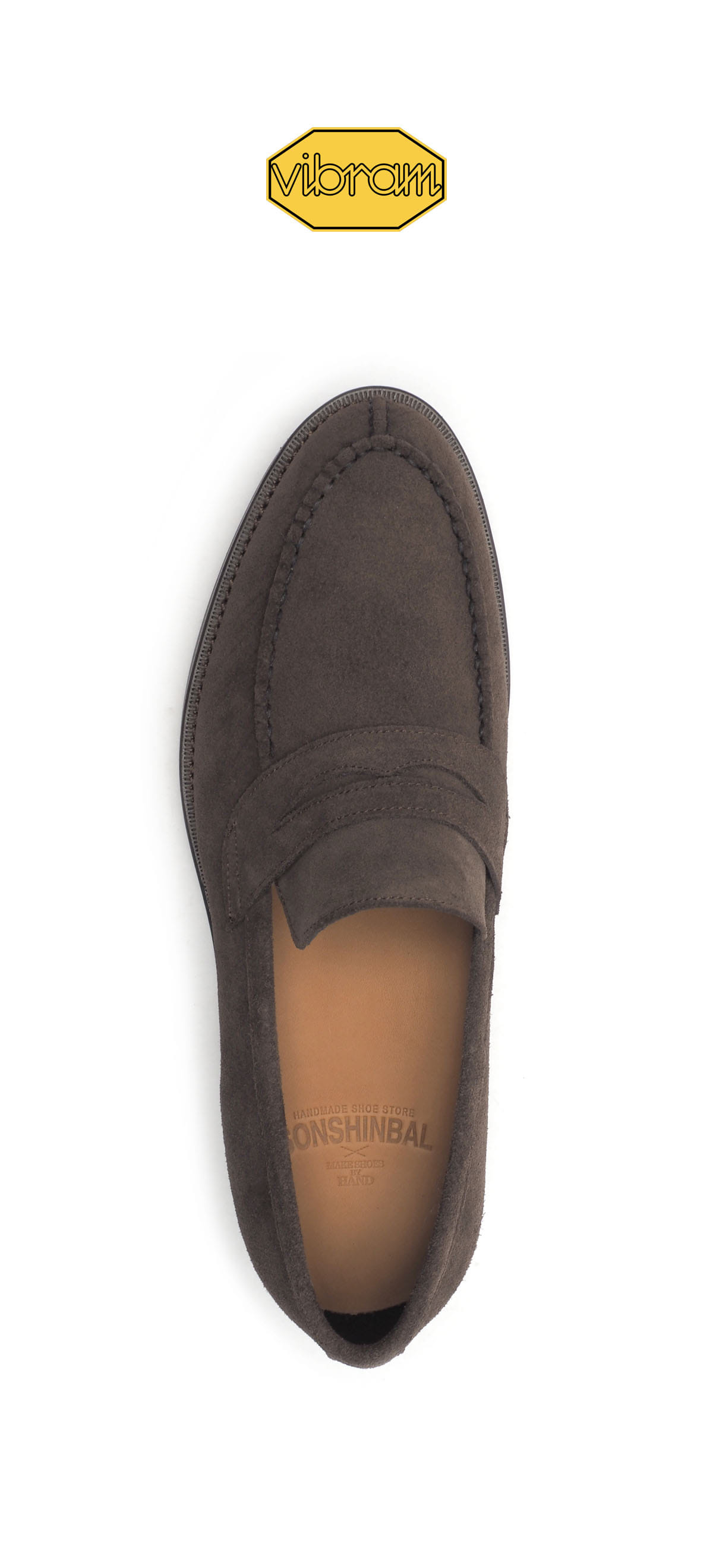 Penny Loafer 2052-03 Deep Brown Suede