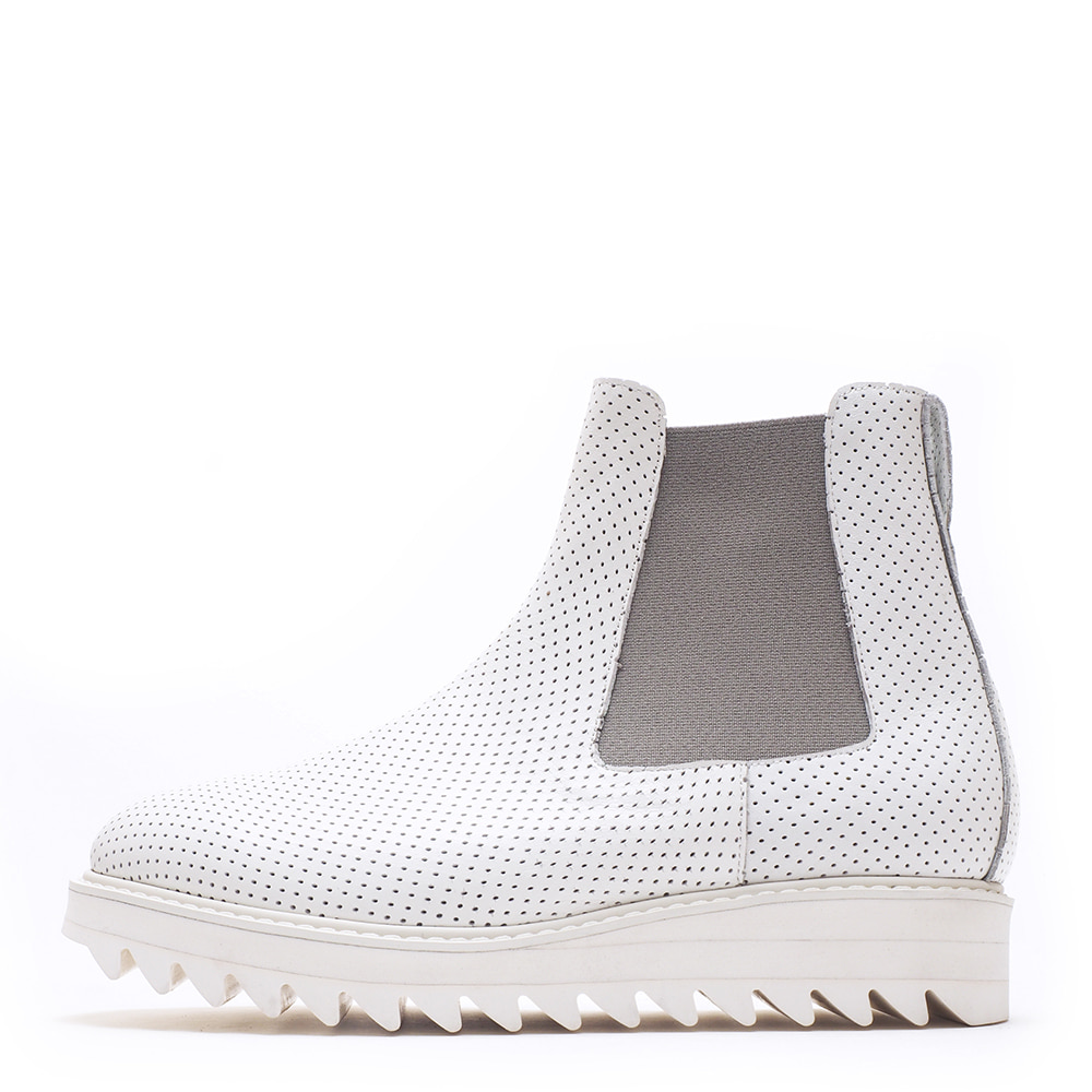 9014-12 / White Dot Minktan / 001