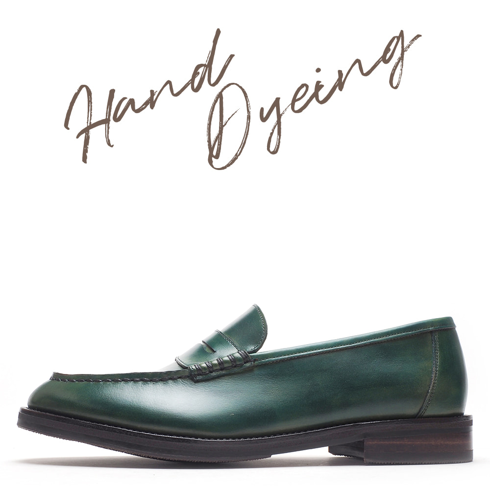 2022-HD02 / Hand Dyeing Dark Green / G3