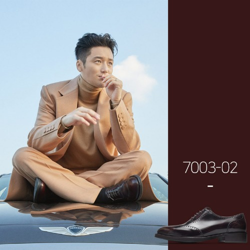 7003-02 / Wine Two-Tone / Vibram 02 / B2